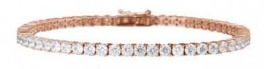 Tennis Bracelet and Engagement Ring -Diamond of London